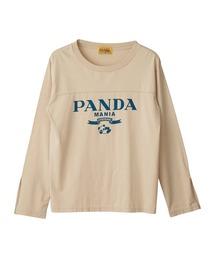 PANDA MANIA Tシャツベージュ