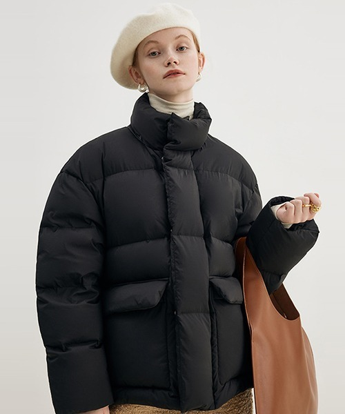 【Fano Studios】【2021AW】Stand collar short down jacket FD21Y013