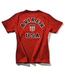AVIREX(アヴィレックス)のavirex/アヴィレックス/メンズ/S/S VARSITY T-SHIRT/半袖 バーシティー Tシャツ(Tシャツ/カットソー)