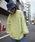 rovtski(ロフトスキー)の「rovtski 【ビッグシルエット】ミニ裏毛パウダーブリーチBIGトレーナーF(スウェット)」 イエロー