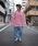 rovtski(ロフトスキー)の「rovtski 【ビッグシルエット】ミニ裏毛パウダーブリーチBIGトレーナーF(スウェット)」 詳細画像