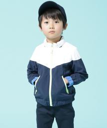 【パッカブル対応・coen キッズ / ジュニア】撥水ブルゾン(ジップアップ)(100〜150cm)