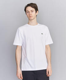 <LACOSTE(ラコステ)> COTTON PIQUE C/N/Tシャツ
