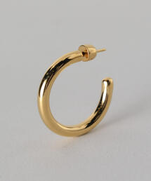 <MARIA BLACK>RUBY 28 HOOP EARRING GOLD PLATED/ピアス.