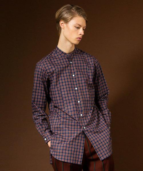 【本日特価】 【セール TOKYO】SOKTASタータンチェックロングバンドカラーシャツ(シャツ/ブラウス) セール,SALE,UNITED|UNITED TOKYO(ユナイテッドトウキョウ)のファッション通販, フジハラマチ:0046a36e --- blog.buypower.ng
