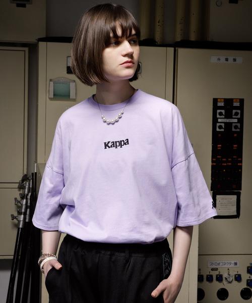 【Kappa/カッパ】 別注ビッグシルエット1/2スリーブカットソー