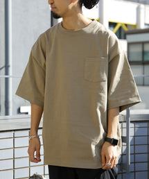 FREAK'S STORE(フリークスストア)のWEB限定 マックスウェイト ビッグシルエット クルーネック 半袖Tシャツ/オーバーサイズカットソー(Tシャツ/カットソー)