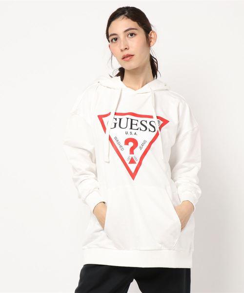 3e222c8002d セール】GUESS Triangle Logo Hoody(パーカー)|Guess(ゲス)の ...