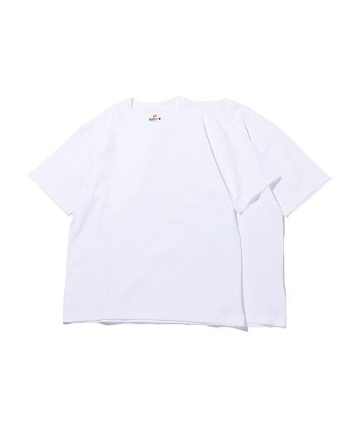 <Hanes> BEEFY T 2pc/パックTシャツ