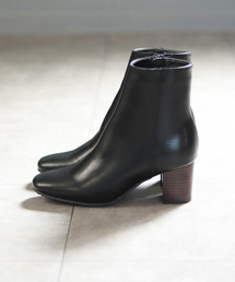 SESTO(セスト)のリアルウッドヒールのスクエアトゥミドル丈ブーツ(ブーツ)
