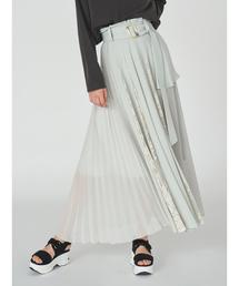 SNIDEL(スナイデル)のプリーツディテールスカート(スカート)