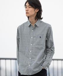 シェパードチェックレギュラーカラーシャツ