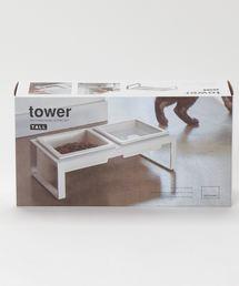 TIMELESS COMFORT(タイムレスコンフォート)のtower(タワー)ペットフードボウルスタンドセット トール(ペットグッズ)