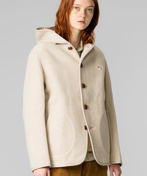 人気 【DANTON】ウールモッサ シングルフードジャケット WOMEN(その他アウター)|Danton(ダントン)のファッション通販, キャットランド:37fd5725 --- schaedlingsbekaempfung-neels.de