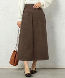 cheek(チーク)のシャツコール張りポケAラインスカート(スカート)