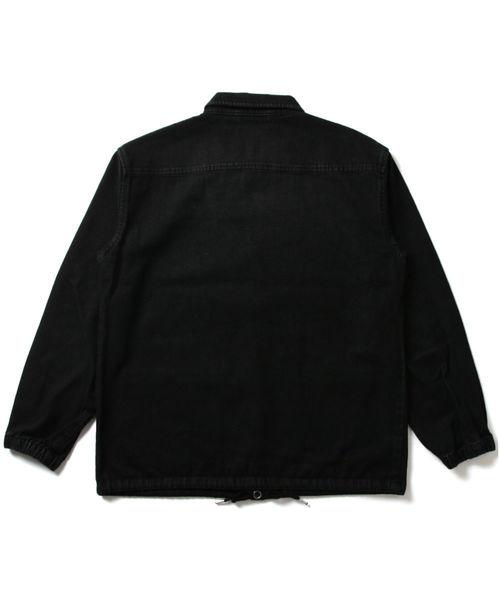 デニムコーチジャケット