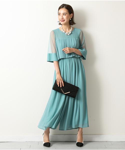 【驚きの値段で】 ドットチュール/ オールインワンドレス/ 結婚式ワンピース・お呼ばれパーティードレス(ドレス)|kana(カナ)のファッション通販, BRILHAR:29935518 --- tsuburaya.azurewebsites.net