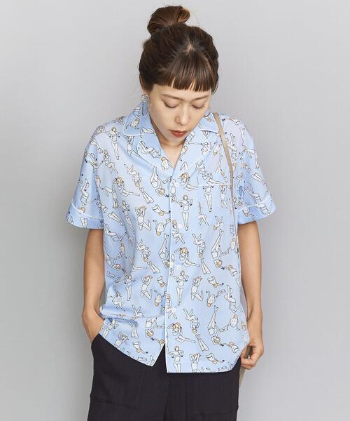 【別注】<maegamimami×Priv. Spoons Club>パジャマシャツ о