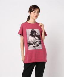 RS/MICK 1971 ビッグTシャツピンク