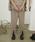 JUHA(ユハ)の「FRONT SLIT TAPERED PANTS(パンツ)」 ベージュ