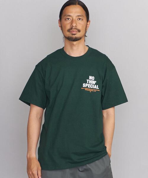 <NOTHIN SPECIAL(ナッシンスペシャル)> LOGO T/Tシャツ