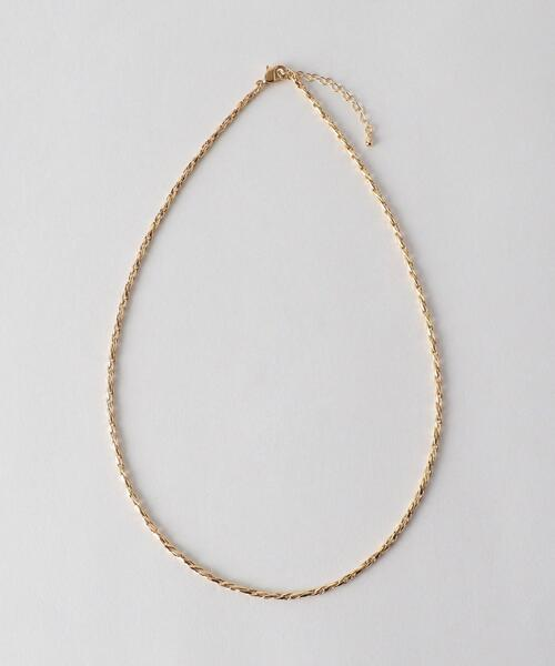 <monkey time> TWIST CHAINE NC/ネックレス