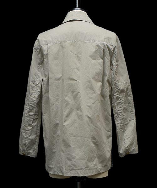 【NICHOLAS DALEY】 WAXED COTTON SHIRT JACKET