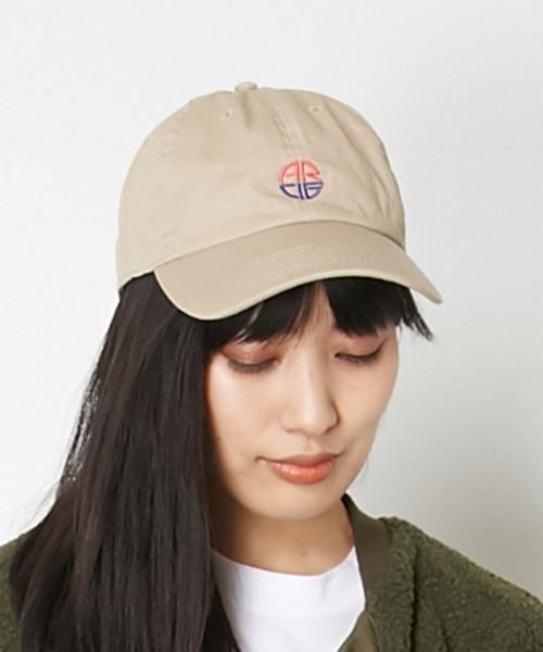 AMERICAN RAG CIE ARC Round Logo Embroidery Cotton Twill Cap/アメリカンラグシー ARCラウンドロゴエンブロイダリーコットンツイルキャップ