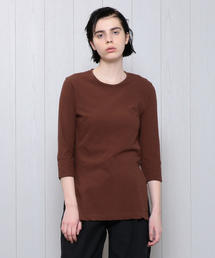 <M/M ATTACHMENT>7SLEEVE CREW NECK PULLOVER/カットソー