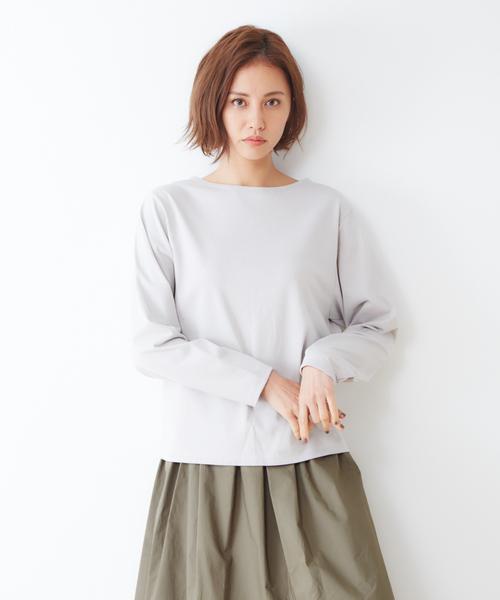collex(コレックス)の「ハイゲージロンT(Tシャツ/カットソー)」|アイボリー