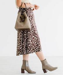 ZAKKA-BOX(ザッカボックス)のレオパード柄フレアスカート(スカート)