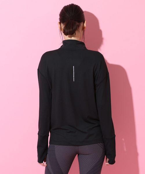 【NIKE】Long Sleeve 1/2 Zip Running Tops