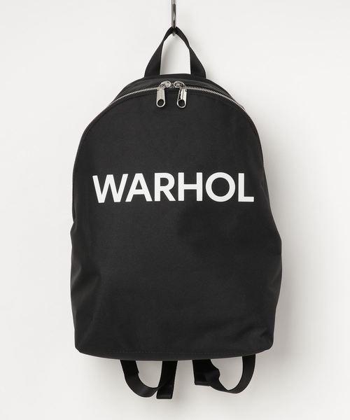 calvin klein カルバンクライン Black バックパック・リュック 【andy warhol backpack】 バッグ メンズ