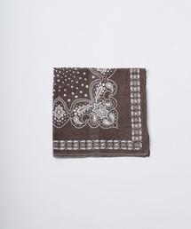 45R(フォーティファイブ・アール)のカディのバンダナ(バンダナ/スカーフ)