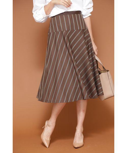 【新作からSALEアイテム等お得な商品満載】 【セール】◆[WEB限定商品]サテンストライプフレアースカート(スカート)|NATURAL BEAUTY(ナチュラルビューティー)のファッション通販, ラグ&カーペットのコレクション:255e2f71 --- 5613dcaibao.eu.org