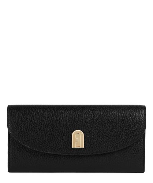 FURLA(フルラ)の「フルラ スリーク XL バイフォールドウォレット(財布)」|ブラック