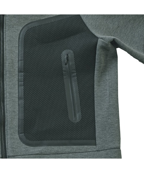 g-stage(ジーステージ)の「【新着】3Dボンディングジャージパーカーブルゾン(スウェット)」|詳細画像