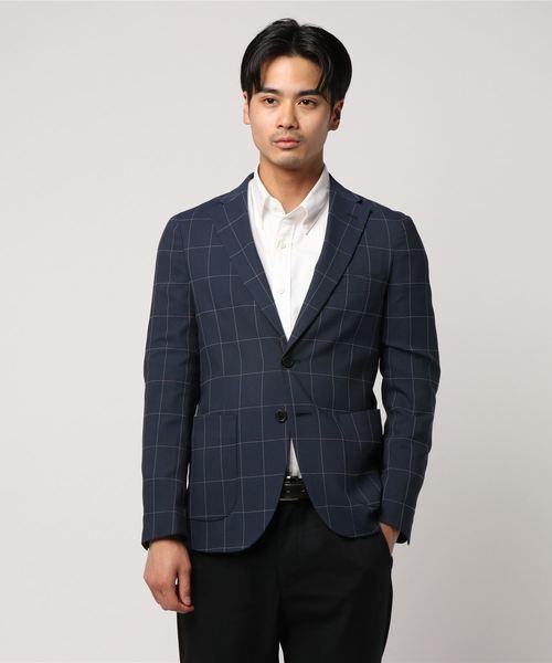 最終値下げ 【セール Suit】ホップサックウインドウペンジャケット(テーラードジャケット)|Perfect Suit FActory(パーフェクトスーツファクトリー)のファッション通販, 鳥海町:b3e121cd --- steuergraefe.de