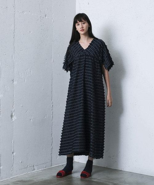 70cdb64af60b1 mintdesigns(ミントデザインズ)のFRINGE DRESS   フリンジドレス(ワンピース)