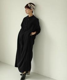 TODAYFUL(トゥデイフル)のコットンツイルシャツドレス(ワンピース)
