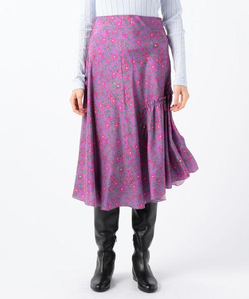 欲しいの APIECE BUYING APART NIETO シルク シルク プリントスカート(スカート) APART TOMORROWLAND(トゥモローランド)のファッション通販, タイヤプライス館:99bc31a7 --- fahrservice-fischer.de