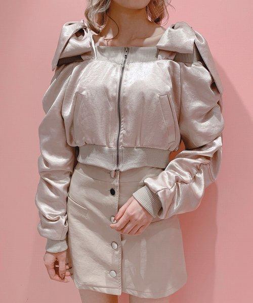 【メーカー直送】 リボンオフショルMA-1(MA-1)|lilLilly(リルリリー)のファッション通販, 熊猫ハウス:c010b688 --- tsuburaya.azurewebsites.net