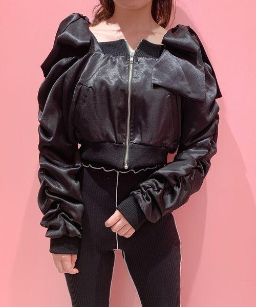 最新入荷 リボンオフショルMA-1(MA-1)|lilLilly(リルリリー)のファッション通販, 西洋香道:6c52b87c --- tsuburaya.azurewebsites.net