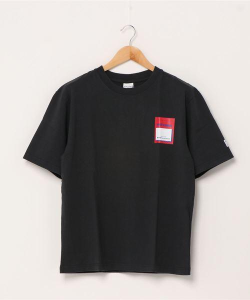 【 MONT KEMMEL / モンケメル 】SS TAG PRINT TEE タグ プリント Tシャツ