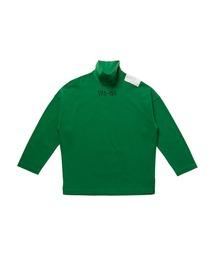 HIGH NECK LONG SLEEVE T-SHIRTグリーン