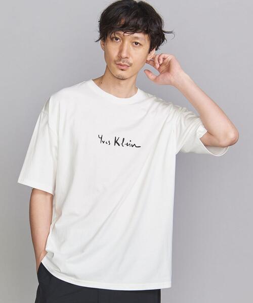 【別注】<Yves Klein(イヴ・クライン)> sign/Tシャツ