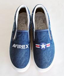 AVIREX(アヴィレックス)のAVIREX/アヴィレックス/ FREEDOM �V ASYMMETRY U.S.NAVY/ フリーダム �V アシンメトリー U.S.NAVY(スリッポン)