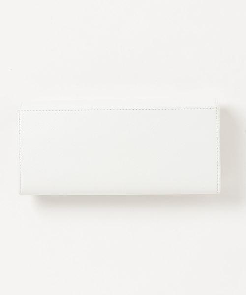 Samantha Thavasa Petit Choice(サマンサタバサ プチチョイス)の「リボン金具シリーズかぶせ長財布(財布)」|詳細画像