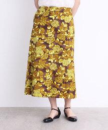 Dot&Stripes CHILD WOMAN(ドットアンドストライプス チャイルドウーマン)のフラワーブーケプリント Aラインスカート(スカート)