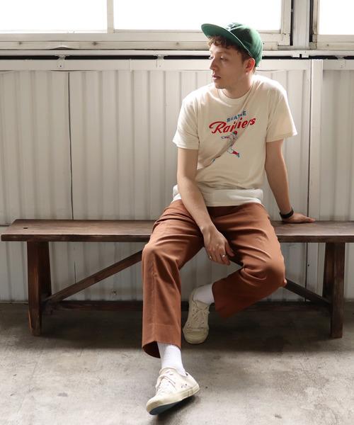 【 EBBETS FIELD FLANNELS / エベッツフィールドフランネルズ  】 プリントTシャツ
